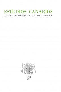 Estudios Canarios. Anuario del IECan, nº 58 (2014)