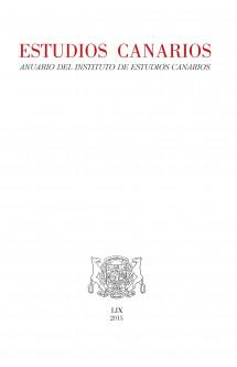 Estudios Canarios. Anuario del IECan, nº 59 (2015)